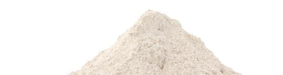 Rye malt flour