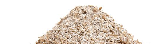 Organic barley brewer's grist